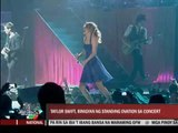 Taylor Swift set Big Dome on fire