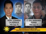PNoy interviews next AFP chief