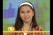 Fatima Soriano sings to give glory to God