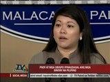 Aquino sends prayers for executed Pinoys