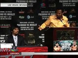 Pacquiao, Mosley meet in final pre-fight press con