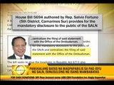 Solon pushes new bill on SALN disclosure