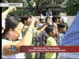 Dagupan residents celebrate New Year at noon