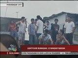 Light plane crashes in Parañaque