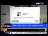 Google unveils online music download store