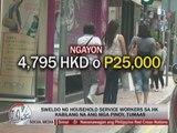 Pinoy maids in Hong Kong get pay increase