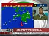 Low pressure area dumps rains on eastern Mindanao