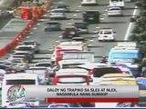 Heavy traffic along SLEX, NLEX as motorists return