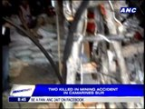 2 killed in CamSur mining accident