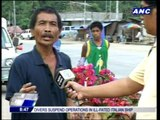 Solidatory walk of Sendong victims marred by protest