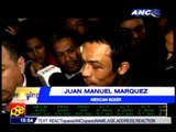 Marquez returns to Mexico, still claiming win vs Pacman
