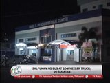 20 people injured in Laguna truck-bus collision
