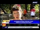 Runners storm Central Park despite cancelled race