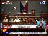 Prosecutors, defense enter appearance at Senate trial