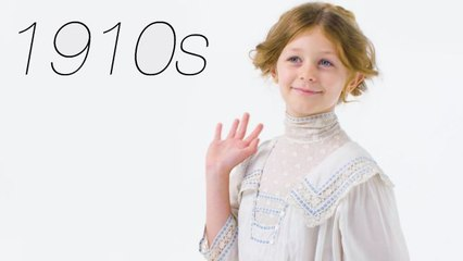 100 Years of Girl's Clothing