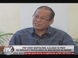 PNoy eyes 'non-duty status' for retiring PNP chief