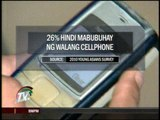 Cellphones is 'vital' for 1 in 4 Pinoy teens