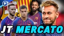 Journal du mercato : le casse-tête du Barça pour régler le cas Neymar