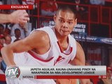 Japeth Aguilar is first Pinoy in NBA D-League