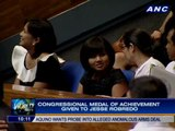 House of Representatives, Napolcom honor Robredo