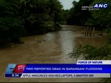 2 dead in Sarangani floods