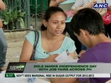 DOLE marks Independence Day with job fairs across PH
