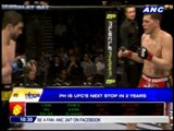 PH is UFC's next stop in 2 years