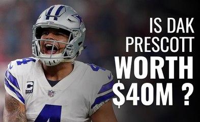 Is Dak Prescott worth $40M?