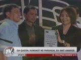 Kapamilya singers, Sarah G honored at 25th Awit Awards