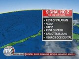 Typhoon 'Pablo' weakens but signal 3 still up in some areas