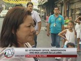 EXCL: QC vet office inspect roasted pork shops in La Loma