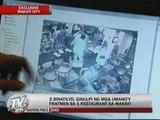 EXCL: Fratmen beat up 2 men inside Makati restaurant