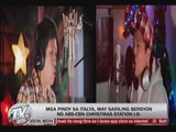 Pinoys in Italy recreate ABS-CBN's 'Kwento ng Pasko'