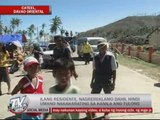 Cateel residents cry for more relief goods