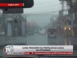 7 Capiz barangays flooded due to 'Quinta'