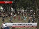 Luneta draws thousands of Pinoys on Christmas