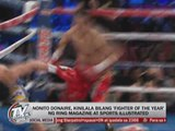 Nonito Donaire hailed 'Fighter of the Year'