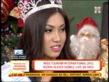 Miss Tourism 2012 visits 'UKG' set