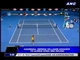 Azarenka, Serena advance to Aussie Open 3rd round