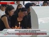 Cebu shooting victims laid to rest