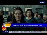 Lea Salonga to perform in New York