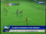 Azkals clip Myanmar in friendly