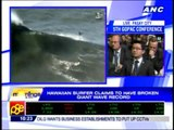 20130131_Surfer claims to have broken giant wave record