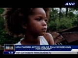 Hollywood actor holds film screening for charity