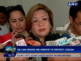 De Lima sends NBI agents to protect Lozada