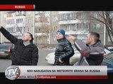 500 hurt in meteorite crash in Russia