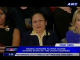 Obama honors Filipina nurse during State of the Union Address