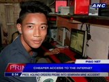 Piso Net: Cheaper access to the internet