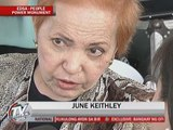 June Keithley honored at People Power event