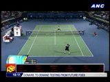 Federer beats Jaziri at Dubai Championships
